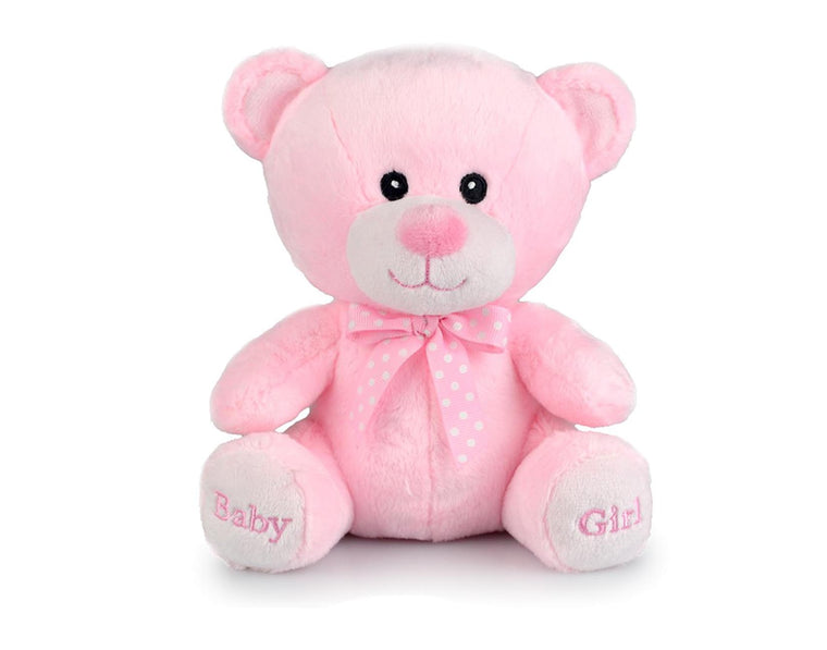 Pink Teddy Bear with Bow Tie (20cm)