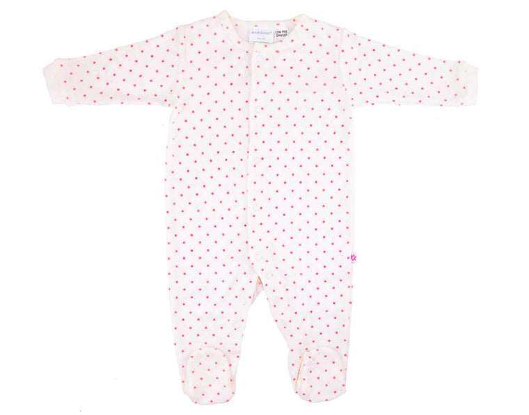 Marquise Pink Stars Studsuit (Size 3-6m)
