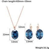FREE  Zircon Stones Jewelry Set, Just Pay Shipping