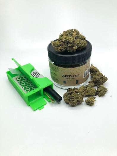 All in One Smokit 2 inch Green with 3.5g CBD Flower