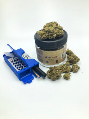 All in One Smokit 2 inch Blue With 3.5g CBD Flower