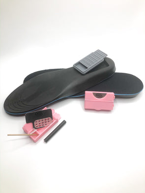 "Two Pink 2"" Smokits with free Storage Soles"