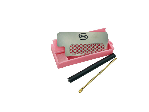 All in One Smokit 3 inch With Metal Pipe - Pink