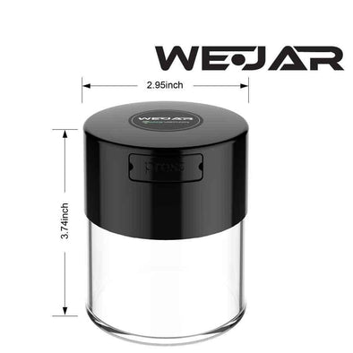 WeJar Smell Proof Jar - Clear