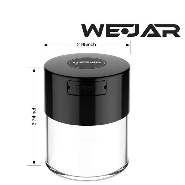 WeJar Smell Proof Jar - Black