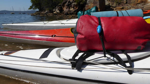 The Shockloc strap is super handy around the boat / kayak / canoe