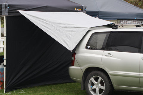 The Shockloc Tarp Tie easily & quickly attaches to anything you can find around