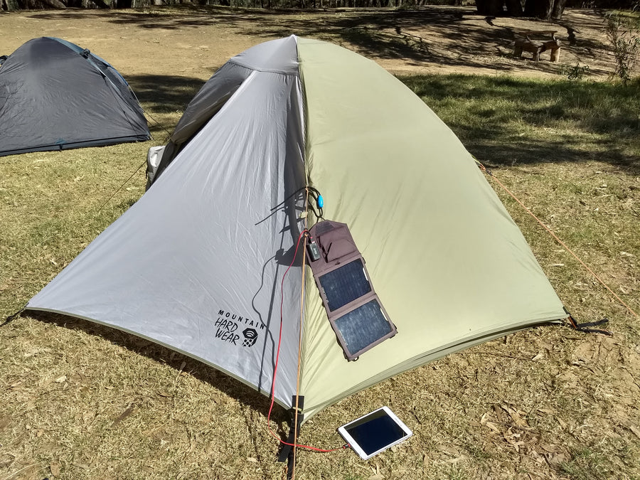 The Original Shockloc Strap great for hanging solar blankets or solar panels