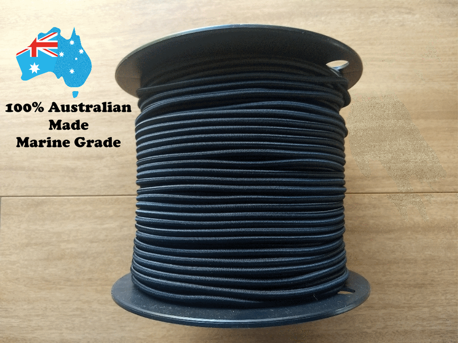 100% Australian Made Marine Grade Shock Cord (2-8mm)