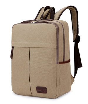 Flat Style Canvas Backpack