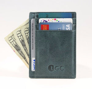 UGC RFID Blocking Slim Leather Wallet