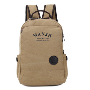 Manjh Stylish Canvas Backpack