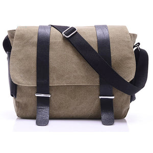 Messenger - Canvas Messenger (Khaki)