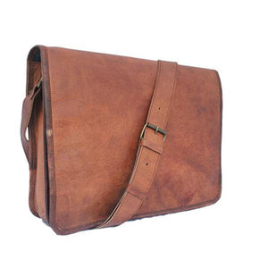 Must Own Messenger - Vintage Leather Messenger Bag