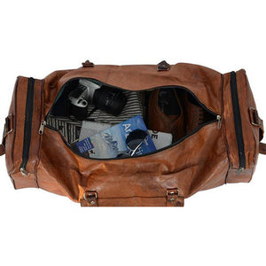 Must Own Travel Bag - Genuine Leather Travel Bag