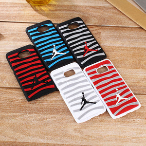 Silicone Phone Back Cover Case For Samsung Galaxy S7 and S7 edge