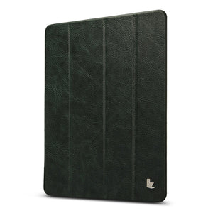 Genuine Leather Slim Smart Case For iPad