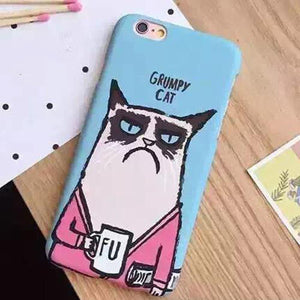 Grumpy Cat Case For iPhone