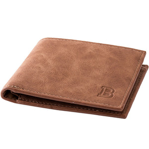 Classic PU Leather BiFold Wallet