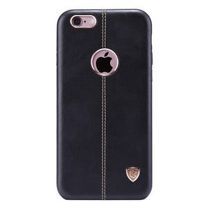 Classic One-Stitch Genuine Leather Phone Case for iPhone