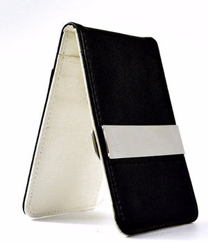 Classic Slim PU Leather Money Clip Wallet