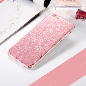 Glitter Shimmering protective phone case for iPhones