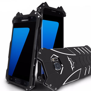 Batman Armor Heavy Dust Metal Aluminum Samsung Case