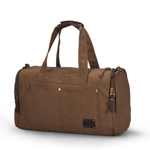 Weekend Canvas Duffel Bag