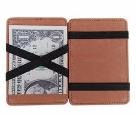 Flexible Bi-Fold PU Leather Magic Wallet