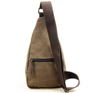 Casual Style Canvas Crossbody Bag