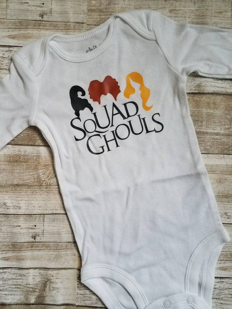 Squad Ghouls baby bodysuit