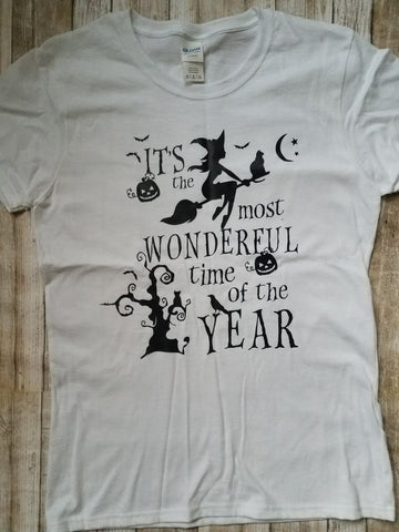 Halloween It's the Most Wonderful Time of the Year t-shirt
