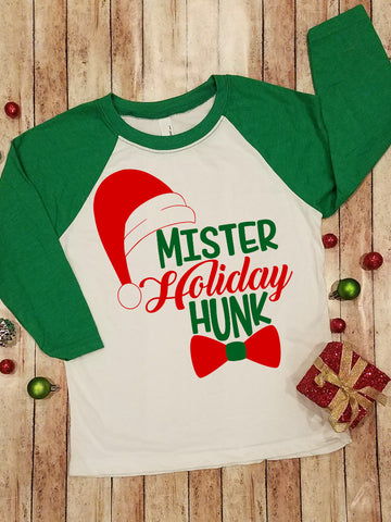 Mister Holiday Hunk