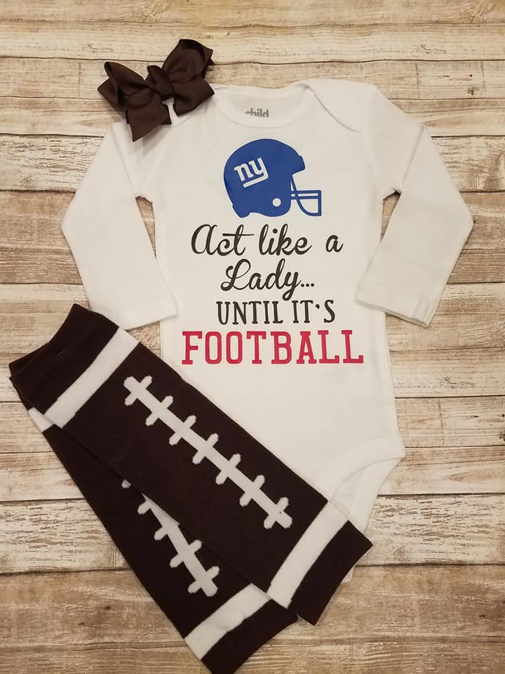 Act Like a Lady Until It's Football bodysuit
