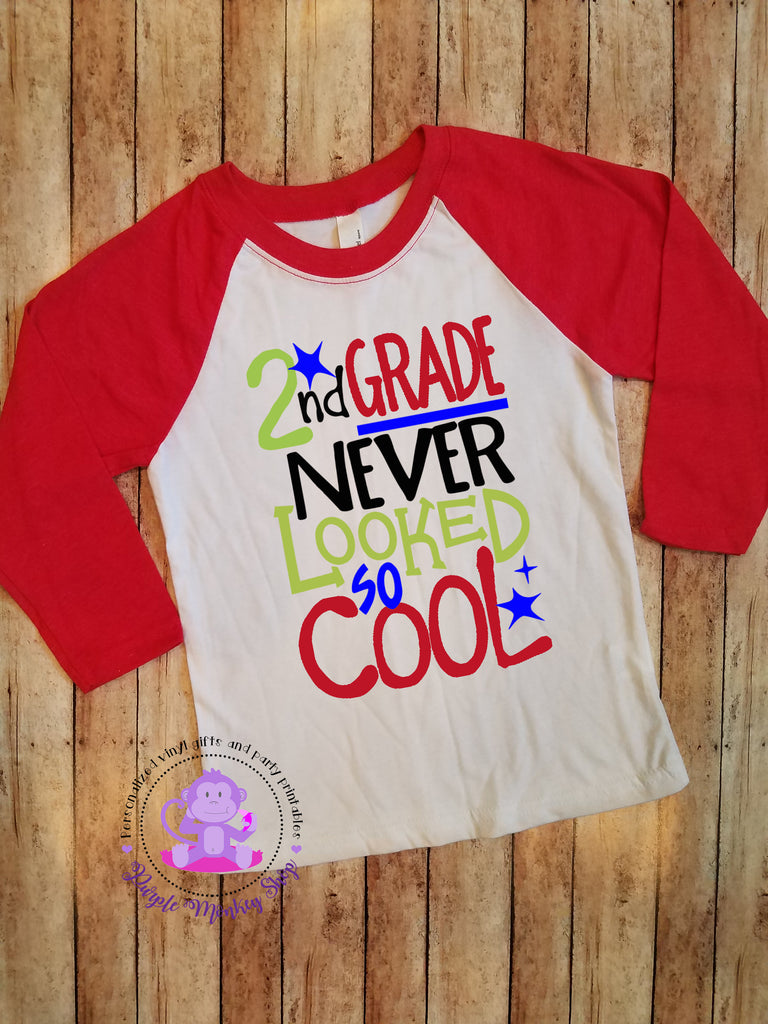 Back to School/First Day of School Shirt | Grade Never Looked So Cool