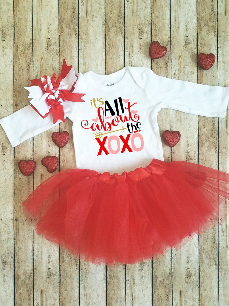 All About the XOXO | Valentine's Day bodysuit/shirt