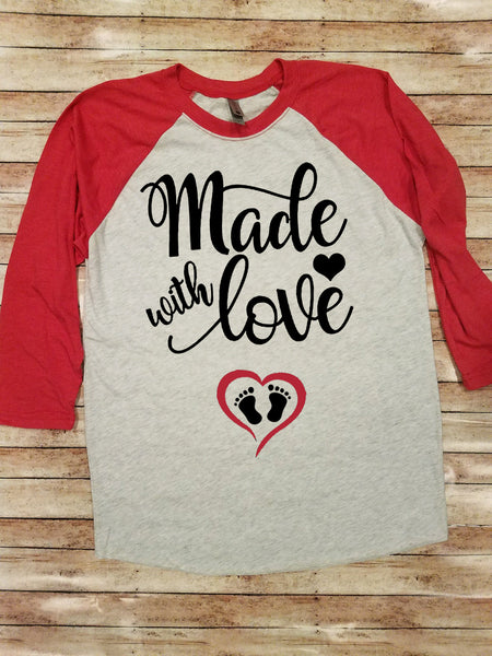 Made with Love | Valentine's Day Shirt