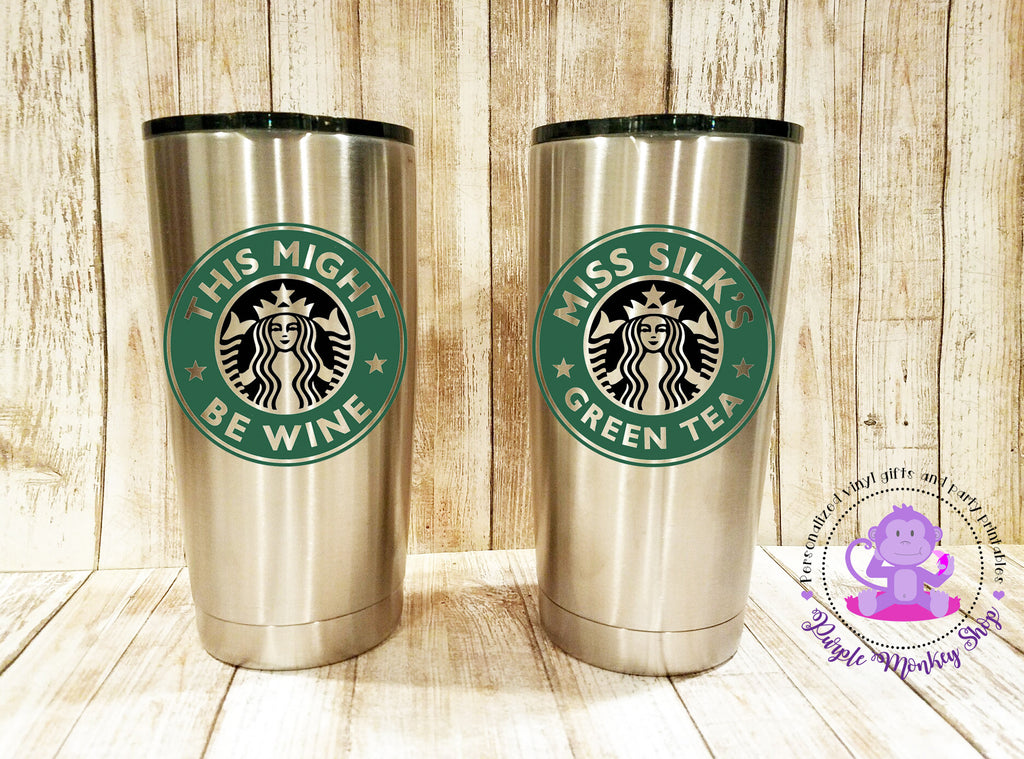 starbucks personalized tumbler template - personalized starbucks 20 oz vacuum insulated stainless