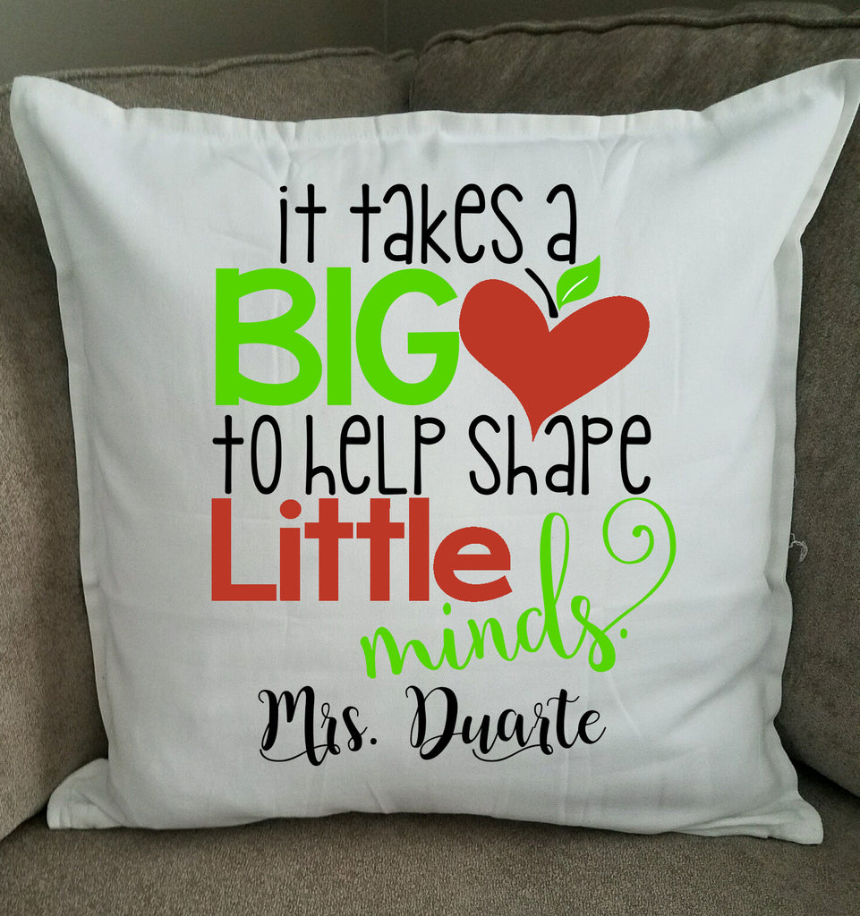 Personalized Teacher Pillow
