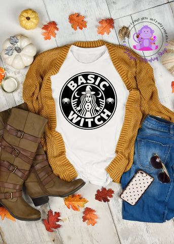 Basic Witch | Starbucks | Halloween Shirt