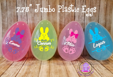 Personalized Jump Easter Eggs