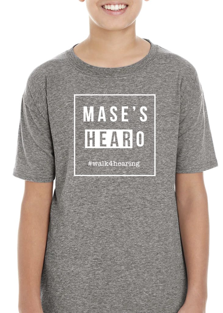 Mase's HEARoes Kids Short Sleeve T-Shirt