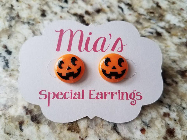 Halloween Perler Bead Earrings