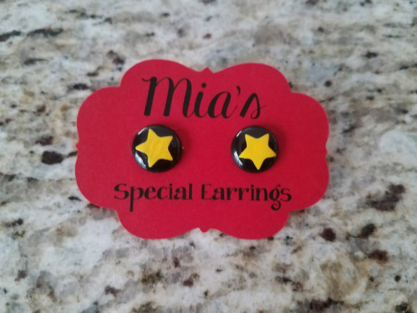 Christmas Perler Bead Earrings