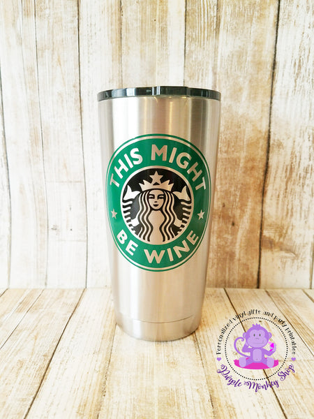 Personalized Starbucks 20 oz. Vacuum Insulated Stainless Steel Tumbler