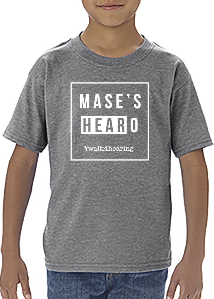 Mase's HEARoes Toddler Short Sleeve T-Shirt