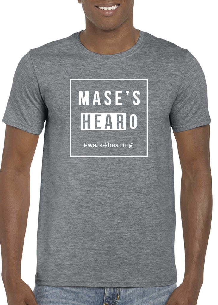 Mase's HEARoes Adult Unisex Short Sleeve T-Shirt
