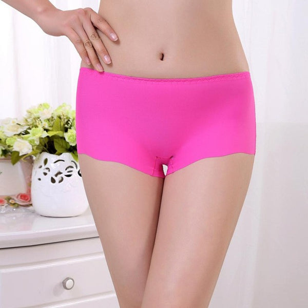 JECKSION Women Panties 2016 new Invisible Underwear Underpants Boxer Briefs Spandex Seamless Crotch