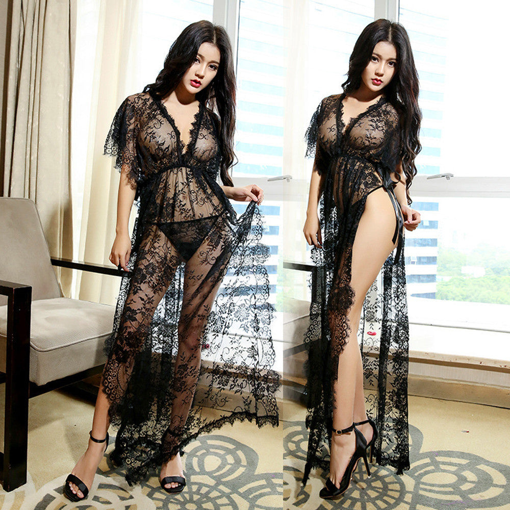Women Sexy Lingerie Sleepwear Lace G string Dress Underwear Babydoll Nightwear