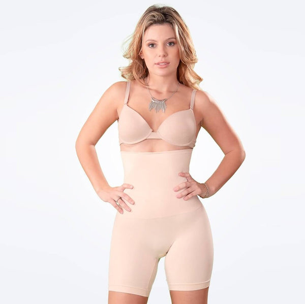 women underwear lady high waist lift hip body shaper plus boxer security pack waist plus size shaping shorts